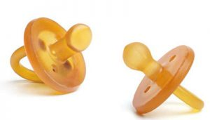 Anatomical and Round Natural Pacifiers